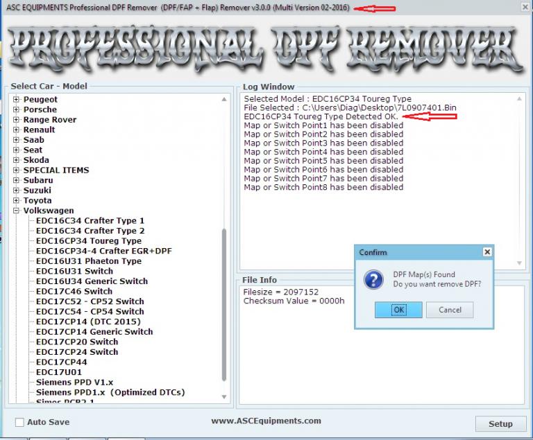 professional dpf flap remover