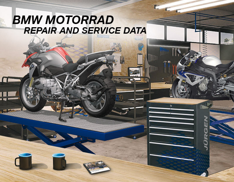 BMW Motorrad Repair and Service data RSD 2017