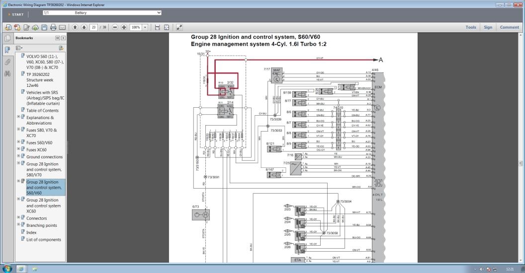 Volvo Ewd 2014d: Volvo Electronic Wiring Diagram Ewd At Satuska.co
