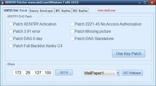 Xentry Das patch