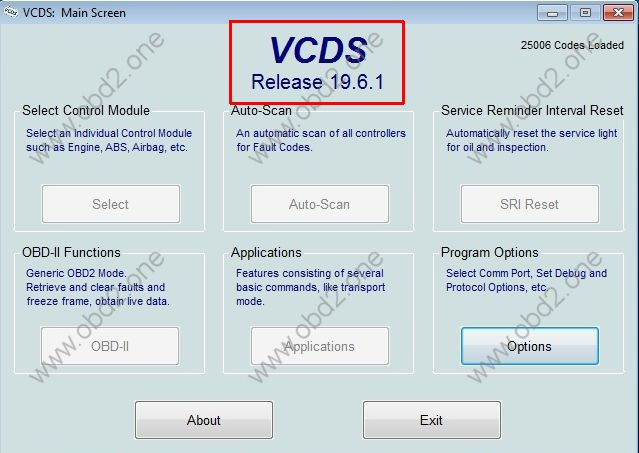 VCDS 19.6.1 with loader