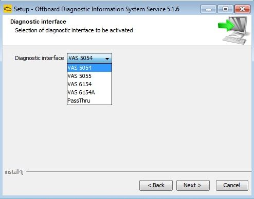 odis-s 5.1.6 interface