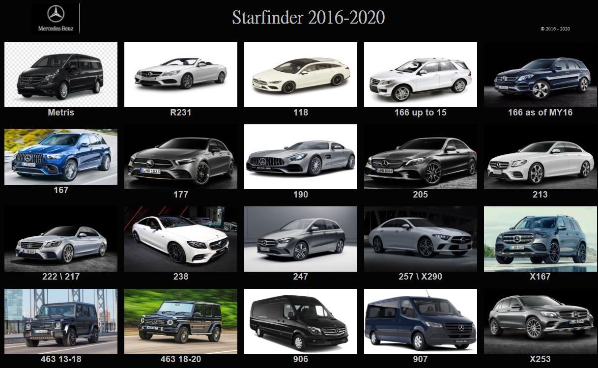 MB starfinder 2020