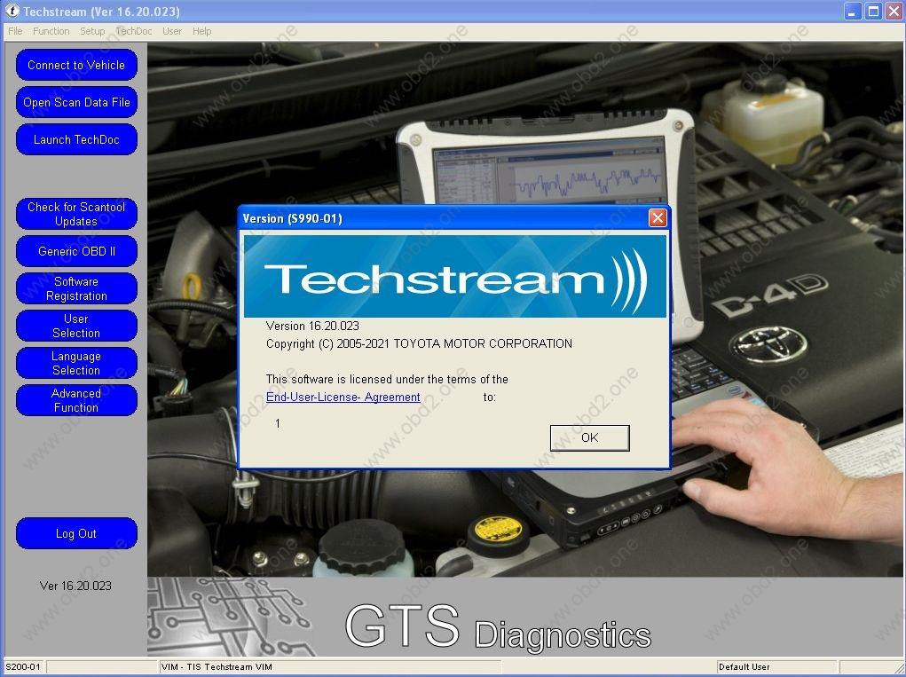 TOYOTA TechStream V16.20.023